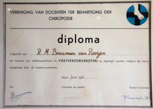 Diploma Ria